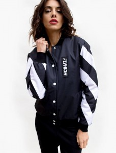 71 BLACK BOMBER JACKET