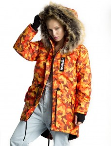 71 ORANGE WINTER JACKET