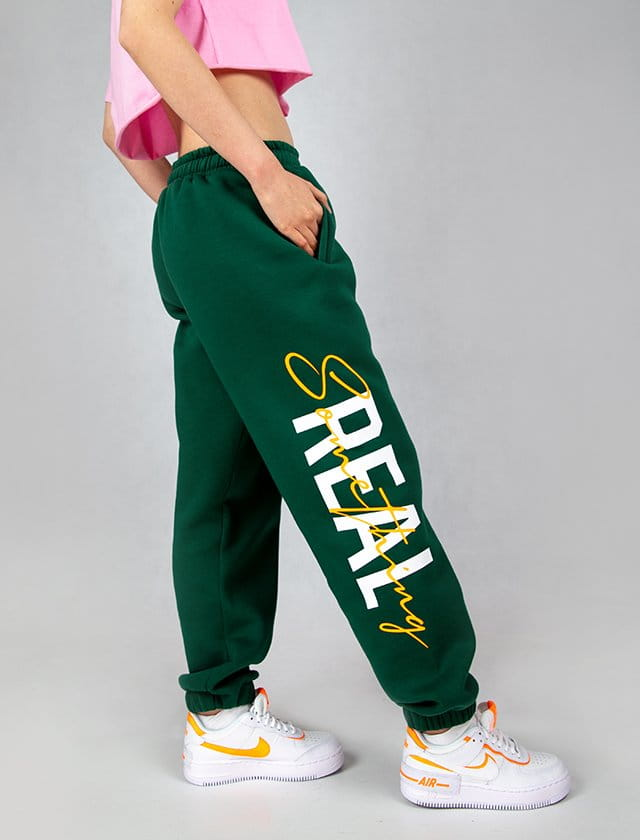 SMTH REAL GREEN PANTS