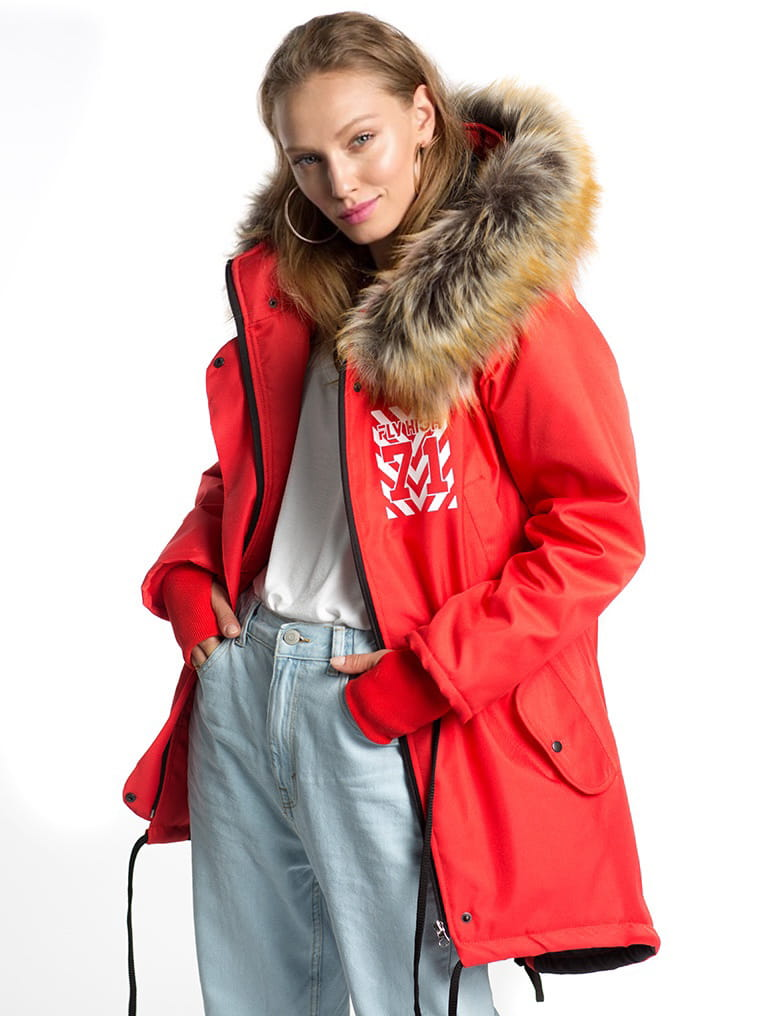 71 RED WINTER JACKET
