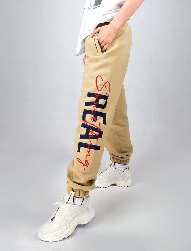 SMTH REAL BEIGE PANTS